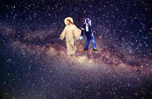 michael and jesus