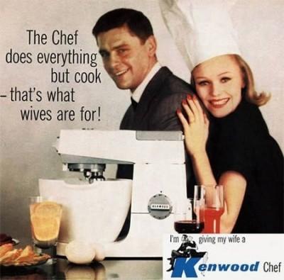 Women cook, chefs create