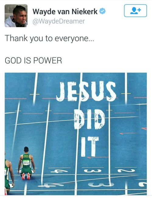jesus did it